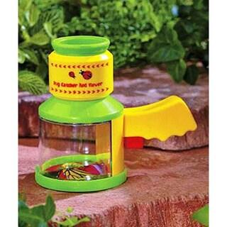 Kid's Handheld Green and Yellow Bug Microscope