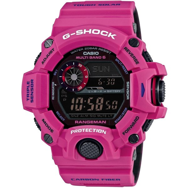 Casio G-Shock GW9400SRJ-4 MASTER OF G Sunrise Purple Resin Watch
