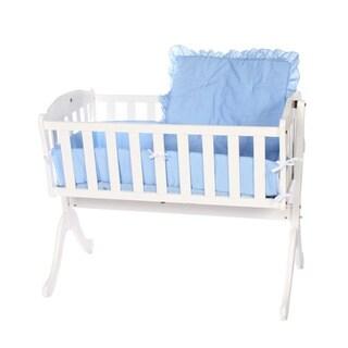 Solid Color Cradle Bedding