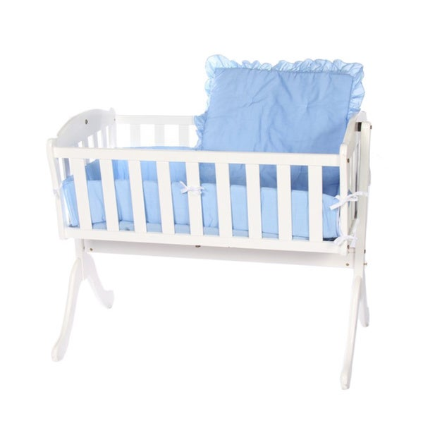 Solid Color Cradle Bedding