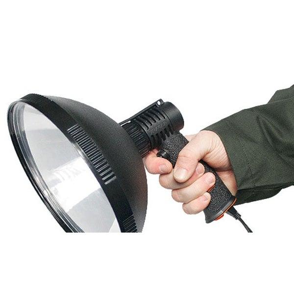 Tracer Lighting Tr2105 Spot Light Beam or Flood 100w Bulb 800 Meter Beam 210 Fixed Power Sport Light