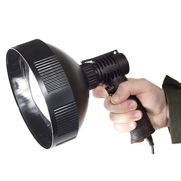 Tracer Lighting Tr1705 Spot Light Beam or Flood 75w Bulb 600 Meter Beam 170 Fixed Power Sport Light