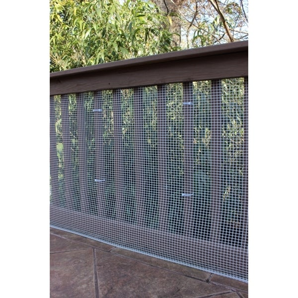Cardinal Gates Neutral Heavy Duty Outdoor Deck Netting