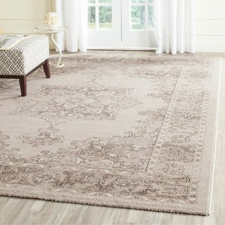 Safavieh Carmel Beige/ Brown Cotton Rug (9' x 12')