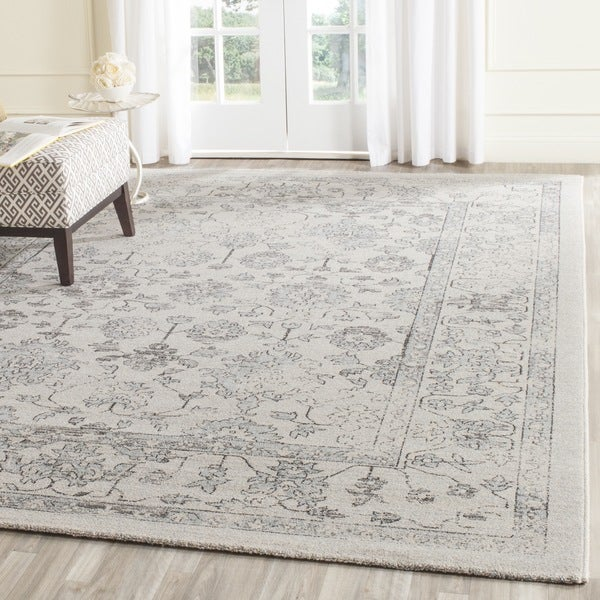Safavieh Carmel Beige Blue Cotton Rug 9 X 12