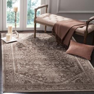 Safavieh Artisan Brown/ Ivory Cotton Rug (10' x 14')