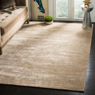 Safavieh Hand-knotted Mirage Sandstone Wool Rug (9' x 12')