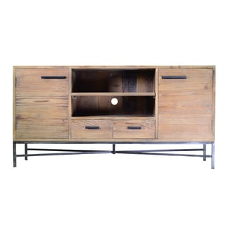 Angora Iron Base Entertainment Console