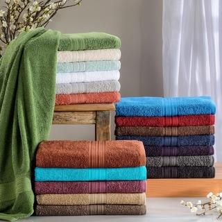 Miranda Haus Eco Friendly Cotton Soft and Absorbent Bath Sheet (set of 2)