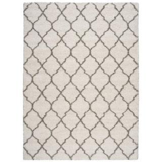 Nourison Amore Cream Shag Area Rug (10' x 13')