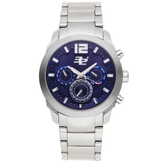 32 Degrees Artic Men's Chronograph Quartz Watch Stainless Steel Case and Bracelet
