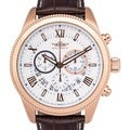 Balmer E-Type Men's Racing-style Swiss Chronograph Watch with Custom-milled Bezel and Textured Dial