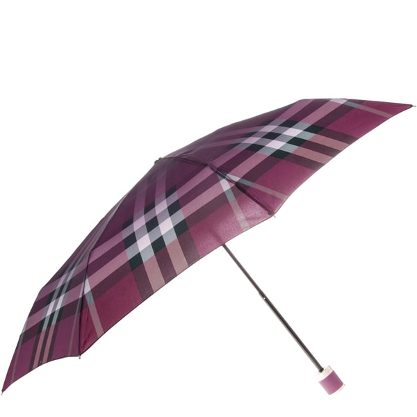 Burberry Check Folding Umbrella