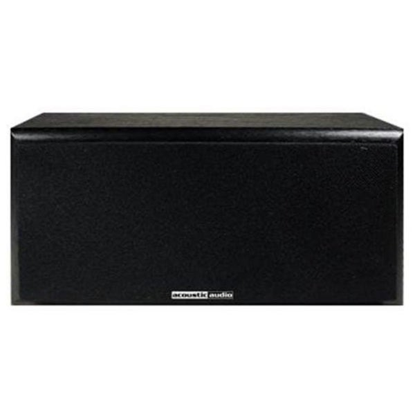 Acoustic Audio RW-C3 100 Watt 2-Way Home Audio Center Channel Speaker - 115 Hz to 20 kHz - 8 Ohm - 87 dB Sensitivity - Wall Mountable