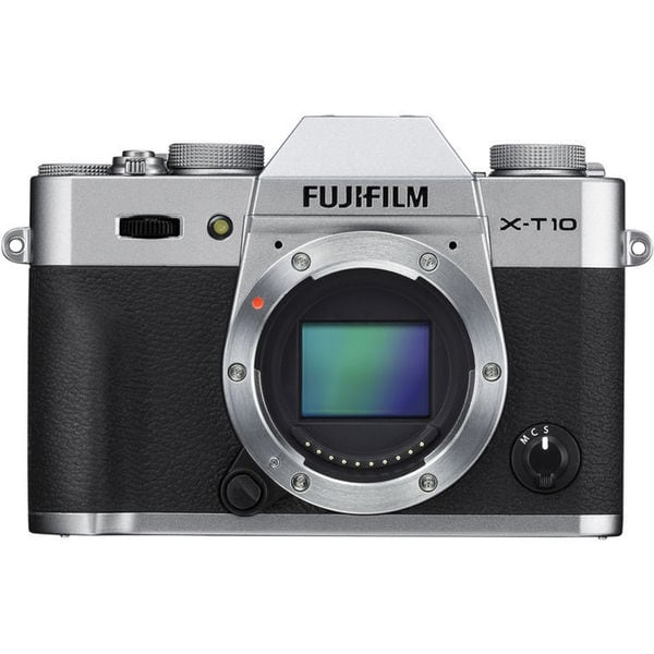 Fujifilm X-T10 Silver Mirrorless Digital Camera (Body Only)