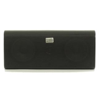Acoustic Audio AA35CB Indoor Center 3 Way Speaker 400-watt Black Bookshelf