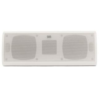 Acoustic Audio AA40CW Indoor Center 3 Way Speaker 500-watt White Bookshelf