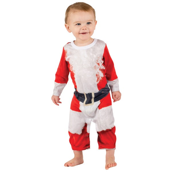 Infant Santa Suit Romper