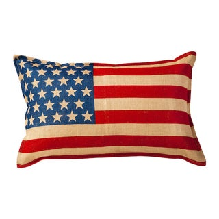 USA Burlap 14-inch x 22-inch Pillow