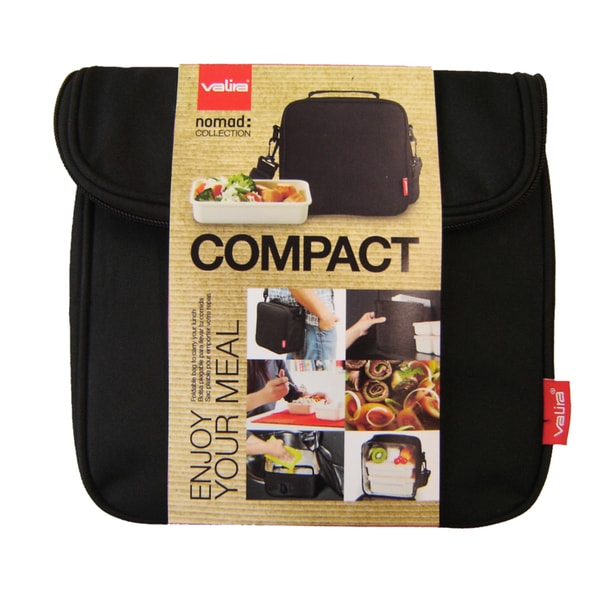Nomad Compact Black Lunch Bag