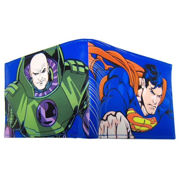 Superman / Luthor Bifold Wallet