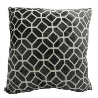 Ardour Printed Velvet Berber Pillows 2 Pack