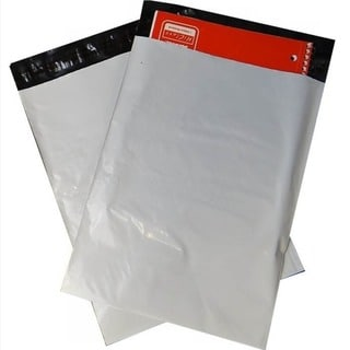 White Poly Mailers 12 x 15 Shipping Mailing Envelopes 2.5 Mil (Pack of 500)