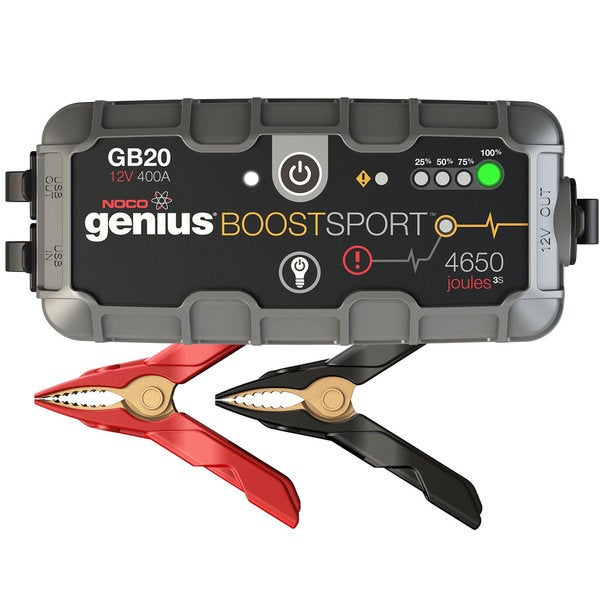 NOCO GB20 Boost Sport 400A 12V UltraSafe Lithium Jump Starter