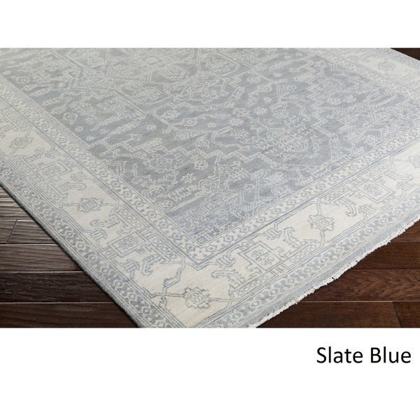Hand Knotted Nashville Wool Rug (2' x 3')