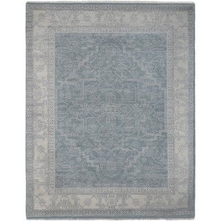 Hand Knotted Nashville Wool Rug (6' x 9')