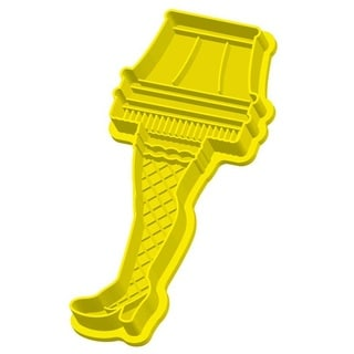 A Christmas Story Leg Lamp Baking Major Award Yellow Cookie Cutter