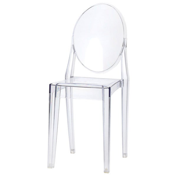 Sophia Ghost Clear Side Chair