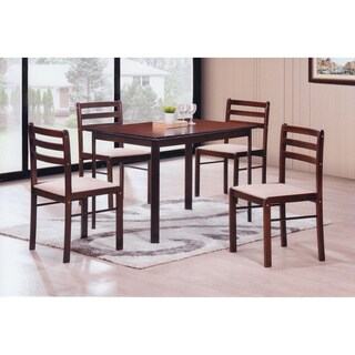 Hodedah 5-piece Dinette Set
