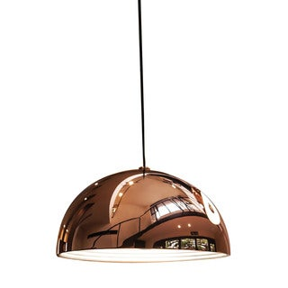 Alico Cupola 1 Light Large Pendant In Copper