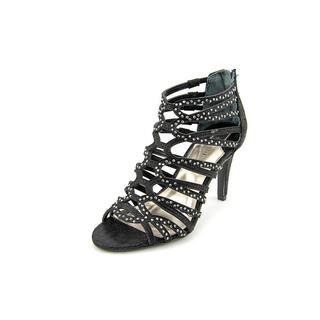 Alfani Women's 'Erias' Black Rhinestone Heels