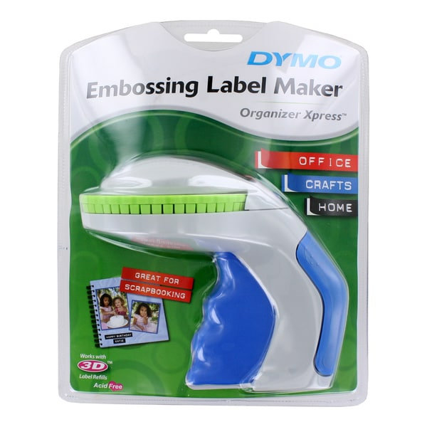 DYMO Organizer Xpress Embossing Handheld Label Maker