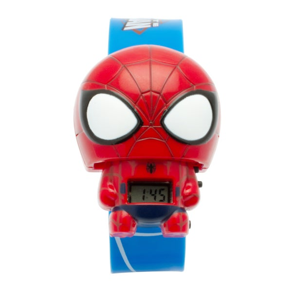 BulbBotz Marvel Kid's Spider-Man Light-up Watch