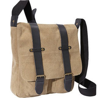 Canvas Highlander Messenger Bag