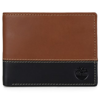 Timberland Men's Genuine Leather Two-tone Commuter Wallet