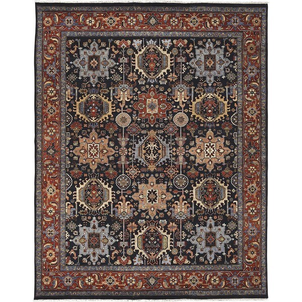 Hand Knotted Orly Wool Rug (2' x 3')
