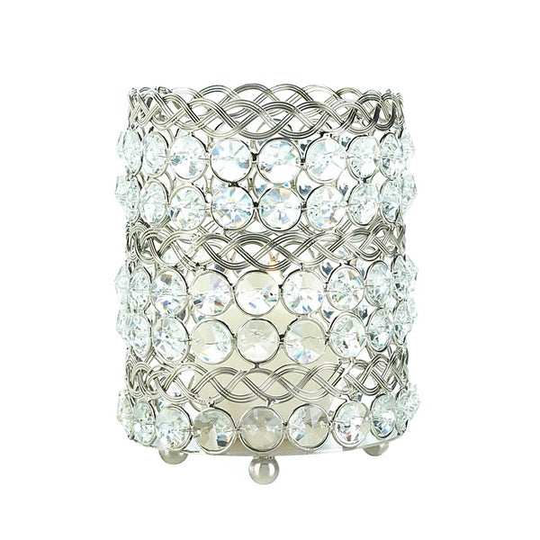 Large Beaded Crystal Candle Cup 17051471