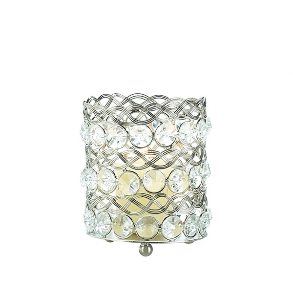 Small Beaded Crystal Candle Cup 17051478