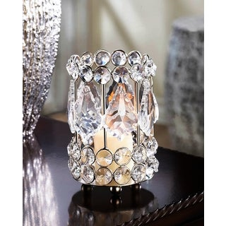 Teardrop Crystal Candle Holder