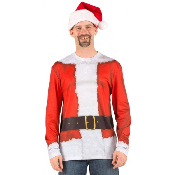 Faux Real Santa Claus Sweater T-Shirt