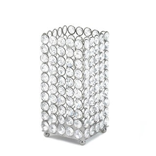 Sparkling Crystal Square Candle Holder