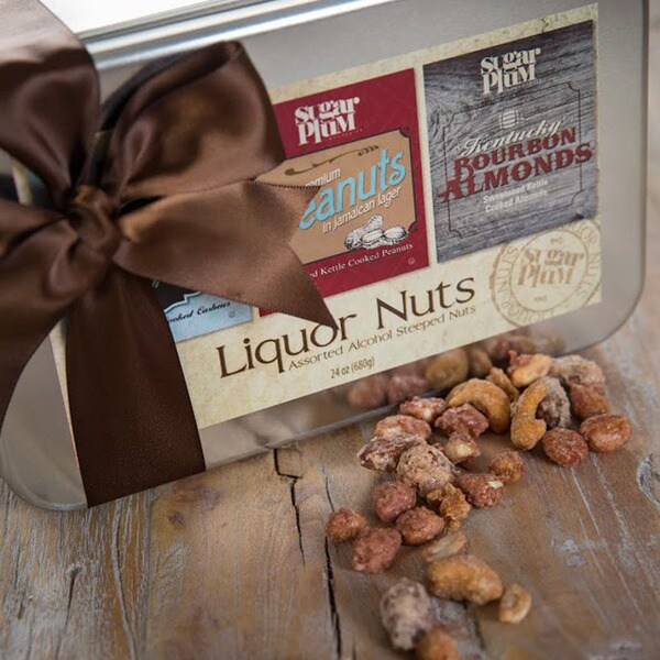 Sugar Plum Chocolates Liquor Nuts Gift Tin