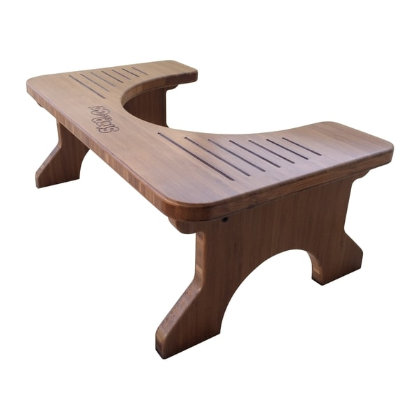 Step and Go Bamboo Stool