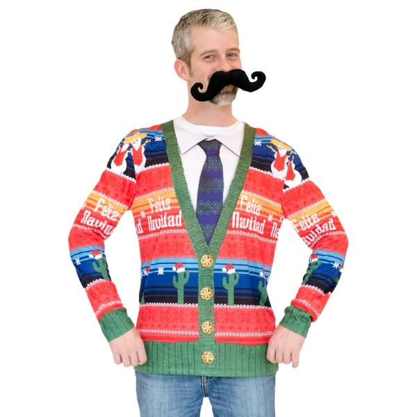 Feliz Navidad Ugly Sweater Long Sleeve Shirt