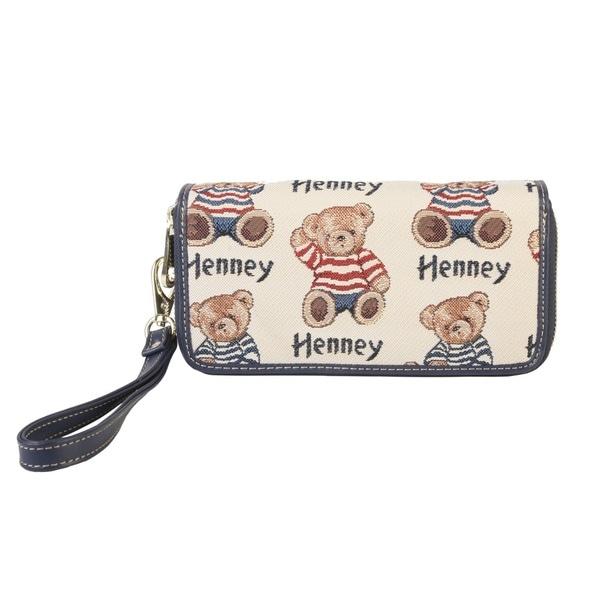 Henney Bear Wristlet Wrist Strap Wallet