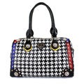 LANY Houndstooth Luxe BostonBag